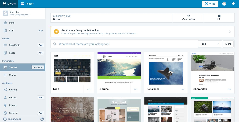Besplatan WordPress sajt - kako napraviti i pokrenuti