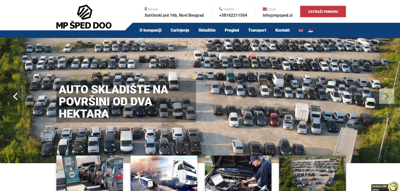 MP Šped Logistic doo, Beograd